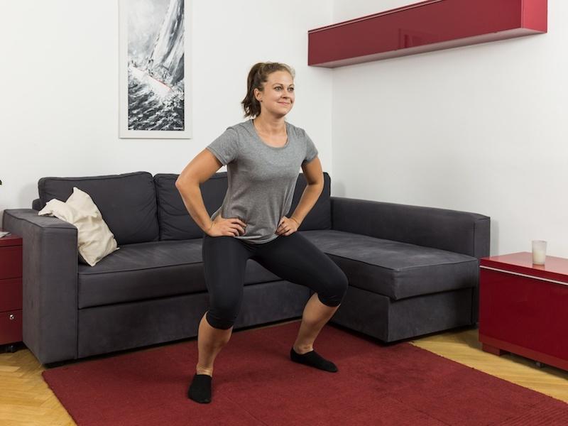 Funktionelles Training trainiert nicht nur deine Beinmuskeln.
