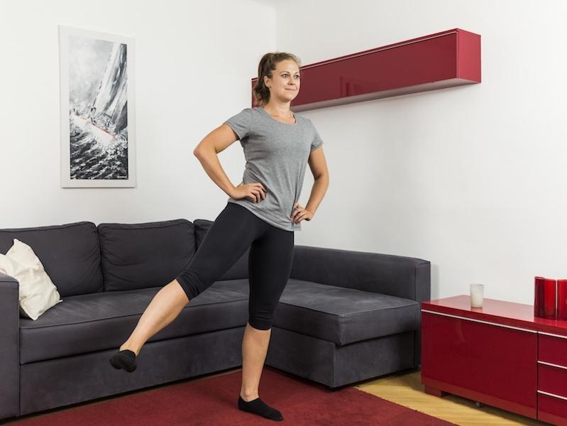 Funktionelles Training sorgt für eine kräftige Rumpfmuskulatur.
