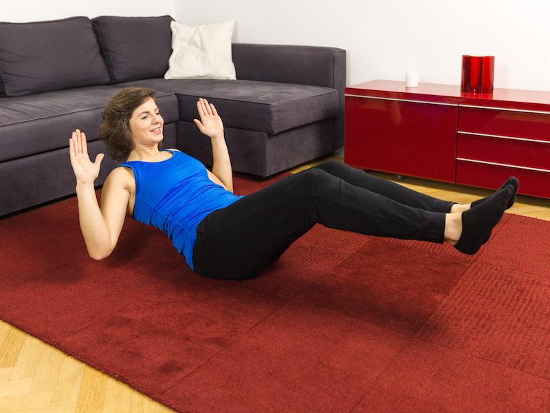 Bauch straffen: 3 effektive Übungen