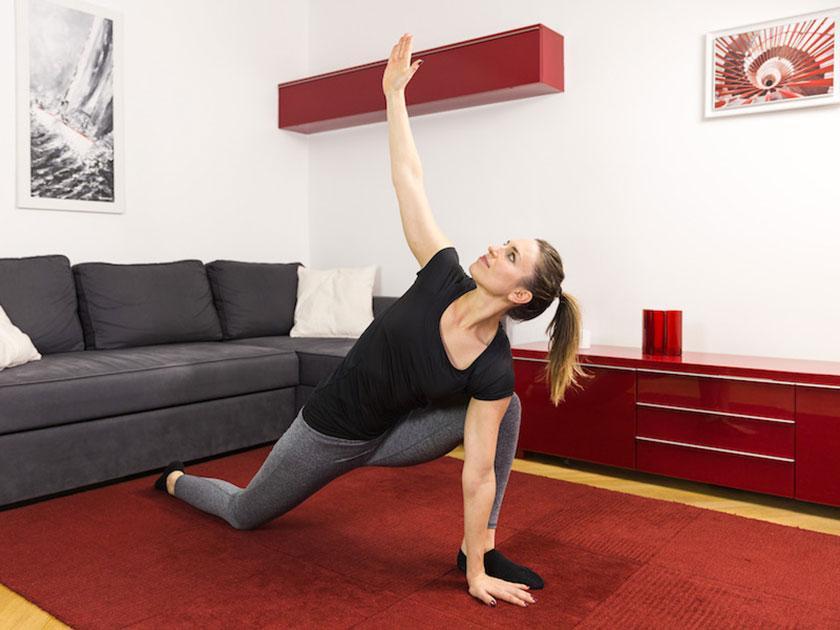 Ganzkörpermobilisation für das Schultergelenk