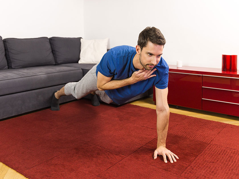 Liegestütz-Tabs bringen Abwechslung in dein funktionelles Training.