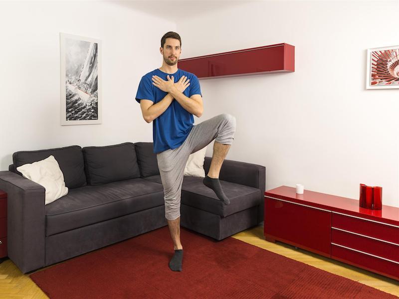 Gleichgewichtstraining – die Basics