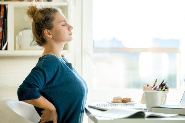 Bleibe fit und beseitige deine Rückenverspannungen mit dem go4health Rückenfit-Programm.