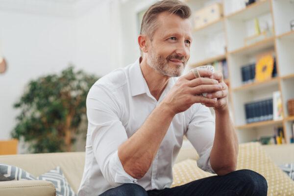Kaffee bringt dir in deiner Pause Energie.