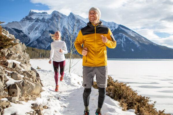 Sport hilft gegen den Winterblues.