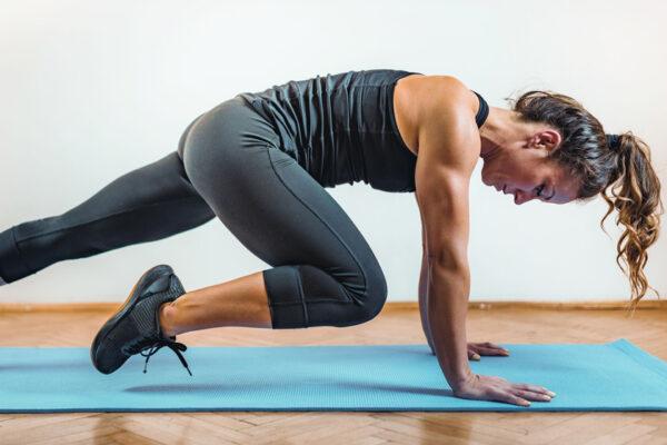Mit den go4health Übungen kannst du deine Rumpfmuskulatur stärken und deine Rumpfstabilität testen.