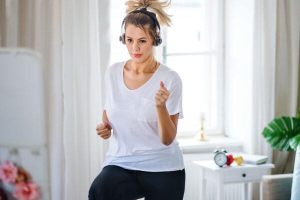 Lockeres, tägliches Training kannst du auch zuhause durchführen.