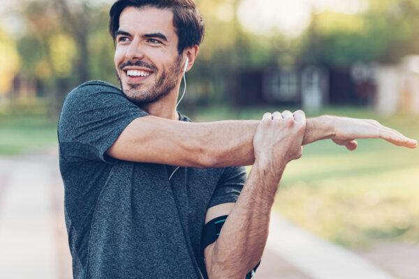 Regelmäßige Bewegung sorgt für gesunde, stabile und bewegliche Gelenke.