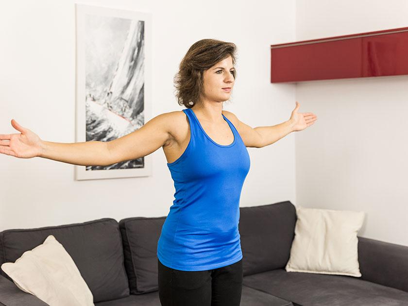Teil II der Morgenroutine: körperliche Aktivität und Bewegung.