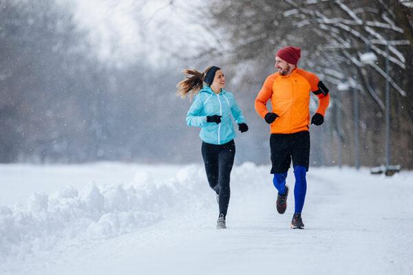 Gemeinsam fit durch den Winter – achtet auf geeignete Kleidung!