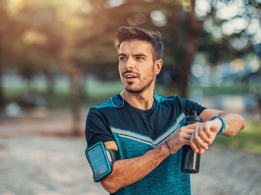 Gehirnleistung steigern: Sport tut gut und steigert sogar die Gehirnleistung.