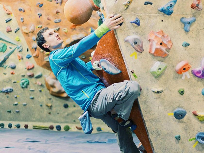 Bouldern und Klettern bringen viele Vorteile mit sich.