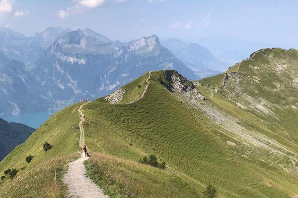 Bergwandern ist gut für Körper und Seele.