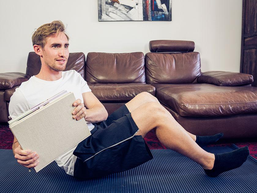 Tägliches Training sollte leichte Kraft- und Beweglichkeitsübungen beinhalten.