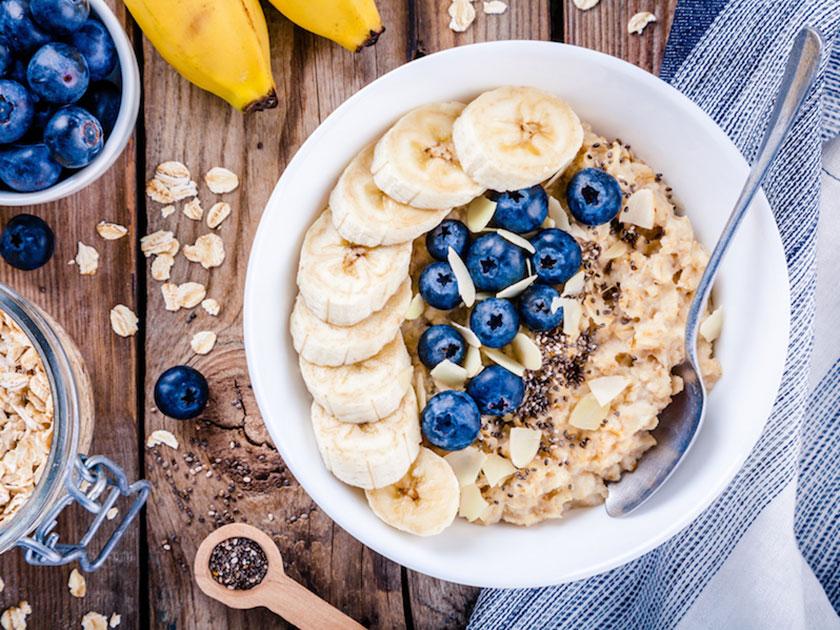 Teil III der Morgenroutine: Gesunde Ernährung.