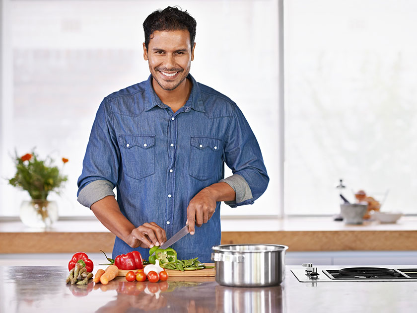 Wenn du Abnehmen willst, achte besonders auf ausgewogene Ernährung.