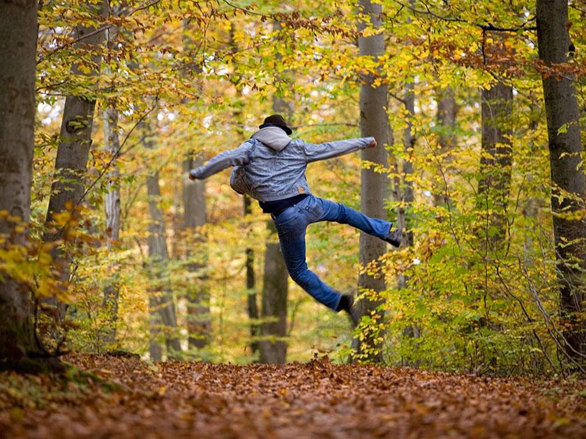 Fit in den Herbst.