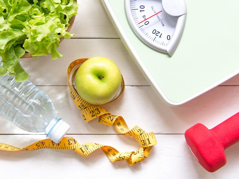 Kalorien sparen, durch Verwendung von wenig, aber hochwertigem Fett.