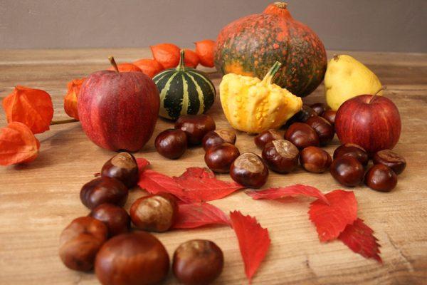 Nimm im Herbst die Natur ganz bewusst wahr.
