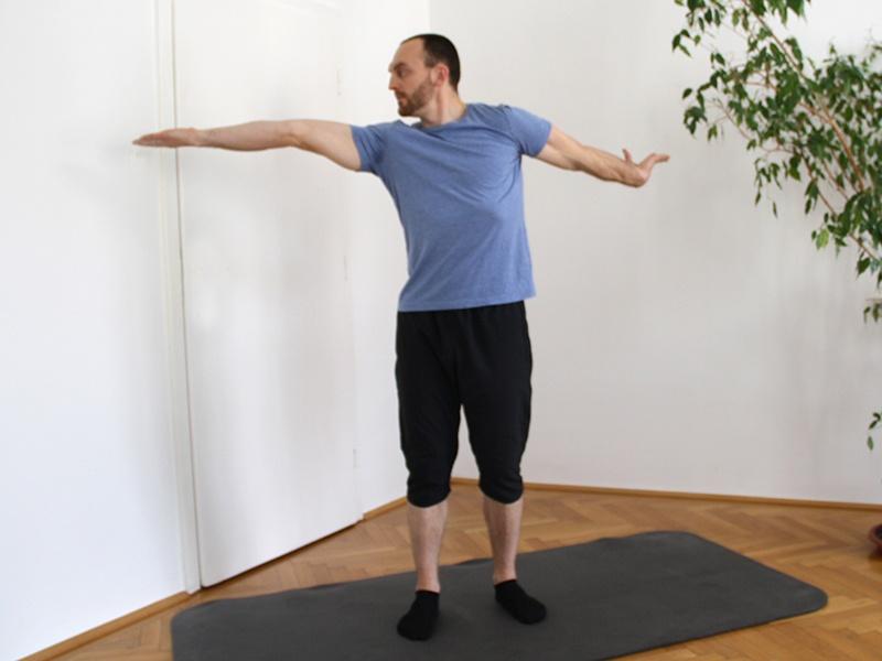 Rücken und Schultern mobilisieren