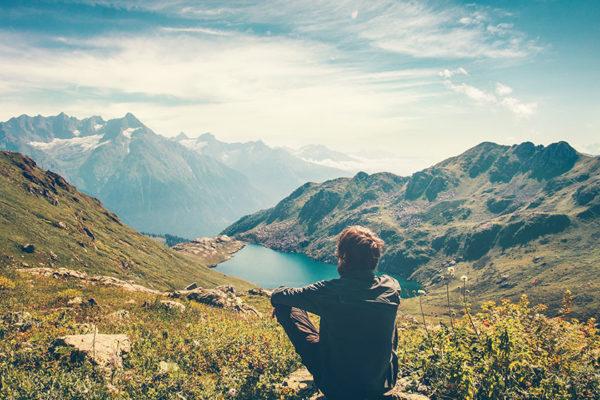 Alleinsein bedeutet, Zeit für sich selbst zu finden und alles andere auszublenden.