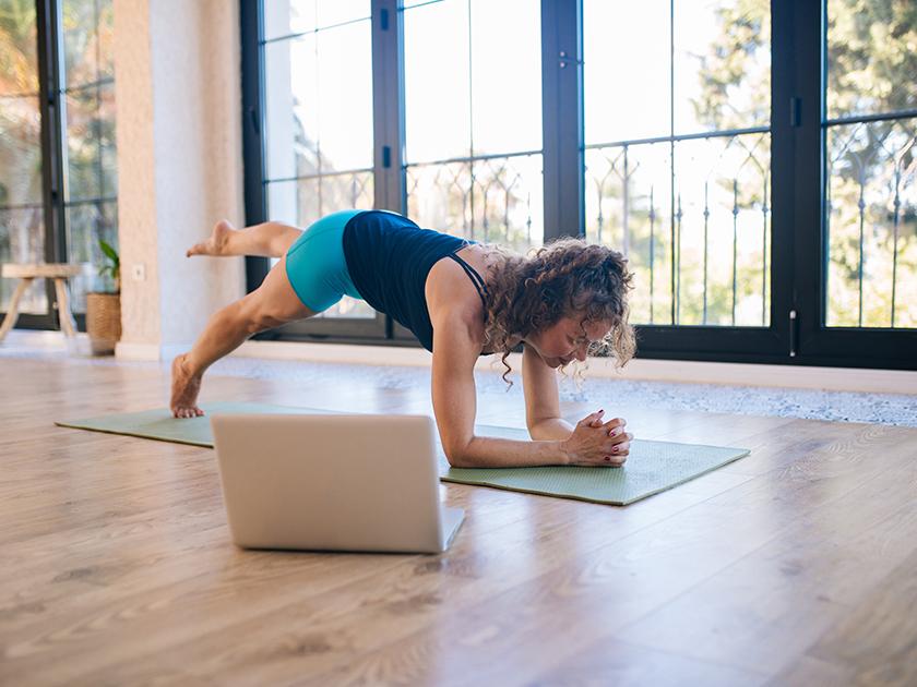 Core-Übungen für stabile Rumpfmuskulatur.