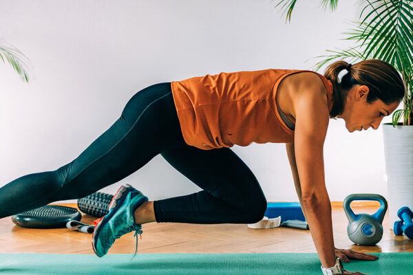 Mit diesen go4health Übungen kannst du deine Rumpfmuskulatur stärken und deine Rumpfstabilität testen.