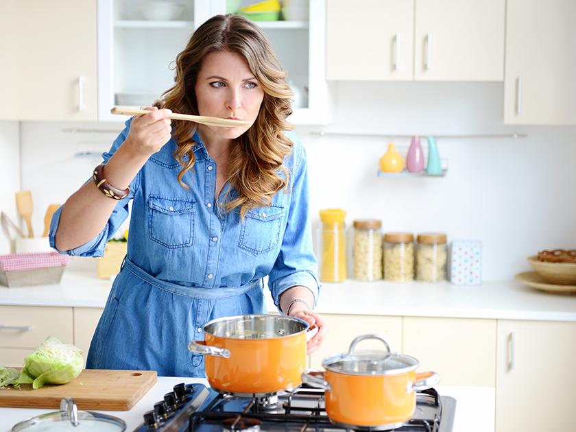 Hausmittel gegen Erkältung – Hühnersuppe hilft.
