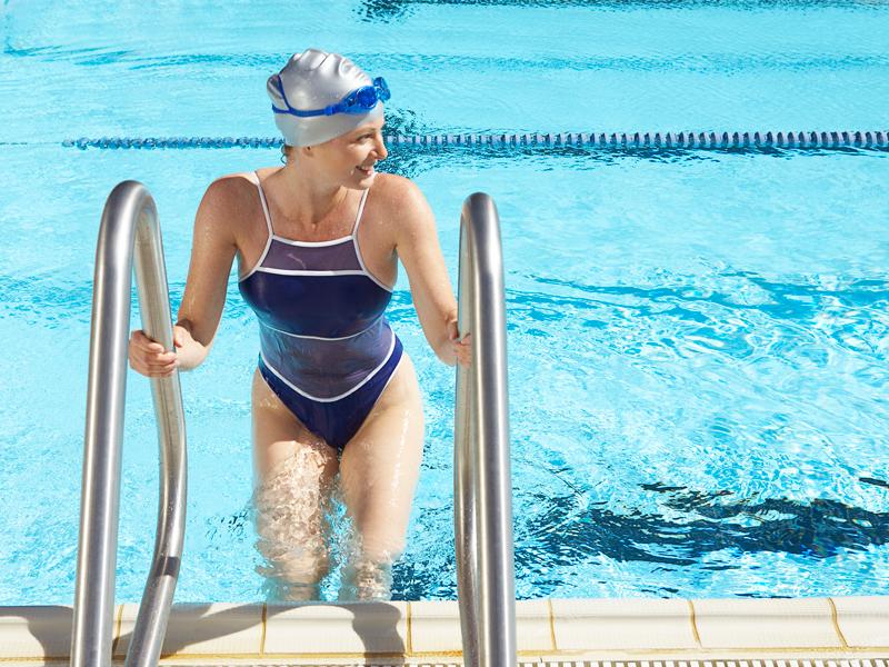 Abnehmen durch Schwimmen: Schwimm dich schlank!