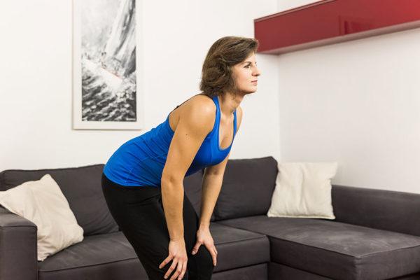 Regelmäßige Bewegung sorgt für gesunde und stabile Gelenke.