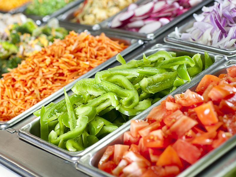 Gesund essen in Restaurant und Kantine