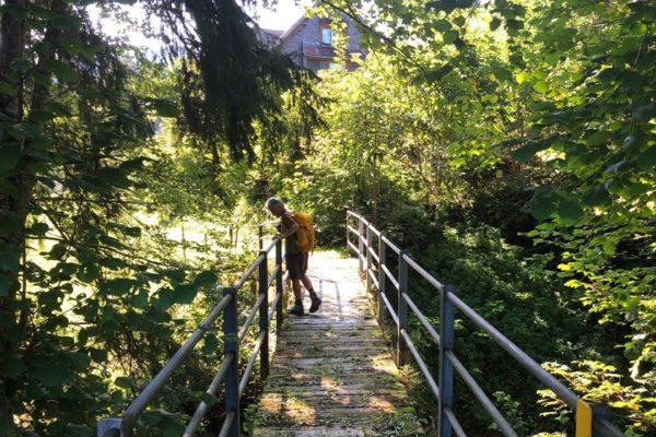 Gesundes Wandern in der Natur: Erholung für Körper und Seele.
