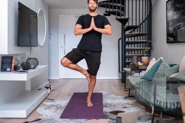 Mit go4health und Yoga-Übungen Entspannung erfahren.
