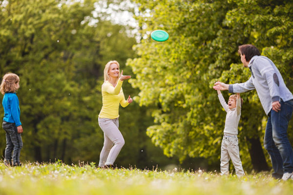 Sport mit Kindern: Ein Spaß für jung und alt.