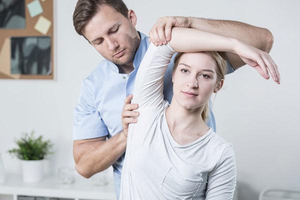 Sehr häufig: eingeschränkte Beweglichkeit im Schulterbereich