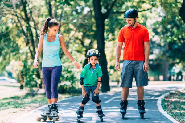 Mit Inline-Skating deine Gesundheit fördern und gleichzeitig viel Spaß haben.