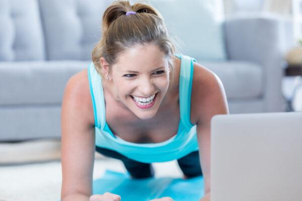 5 go4health Übungen für dein Home-Workout.