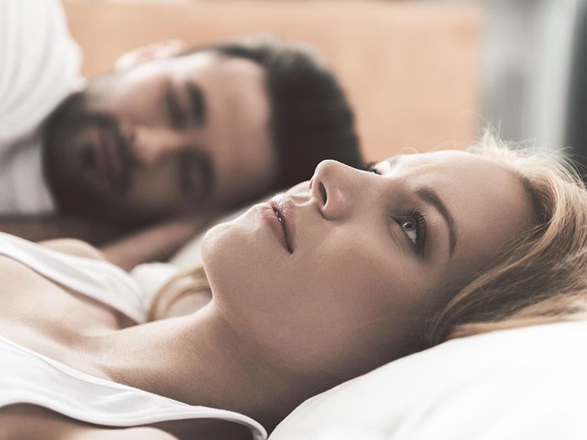 Angst vor dem Einschlafen: Mach dir keinen Druck!