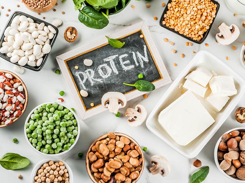 Proteine wie Hülsenfrüchte sollen in der Sporternährung nicht fehlen.
