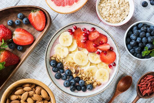Gesundes Frühstück schmeckt lecker und geht auch ohne großen Aufwand.