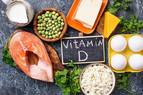 Wirke einem Vitamin-D-Mangel durch bestimmte Nahrungsmittel entgegen.