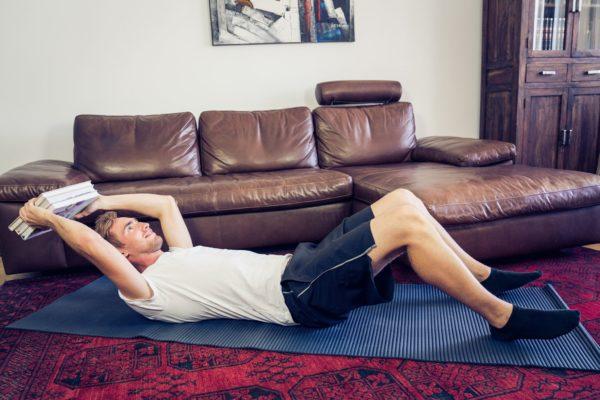 5 Übungen von go4health für dein Workout zuhause.