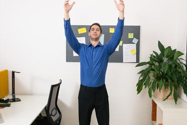 Die go4health Atemfigur ist eine entspannende Atemübung, die du auch in der Arbeit durchführen kannst.