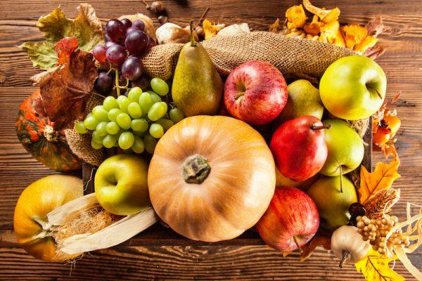 So bunt wie der Herbst, ist auch die Vielfalt an gesundem Obst und Gemüse.