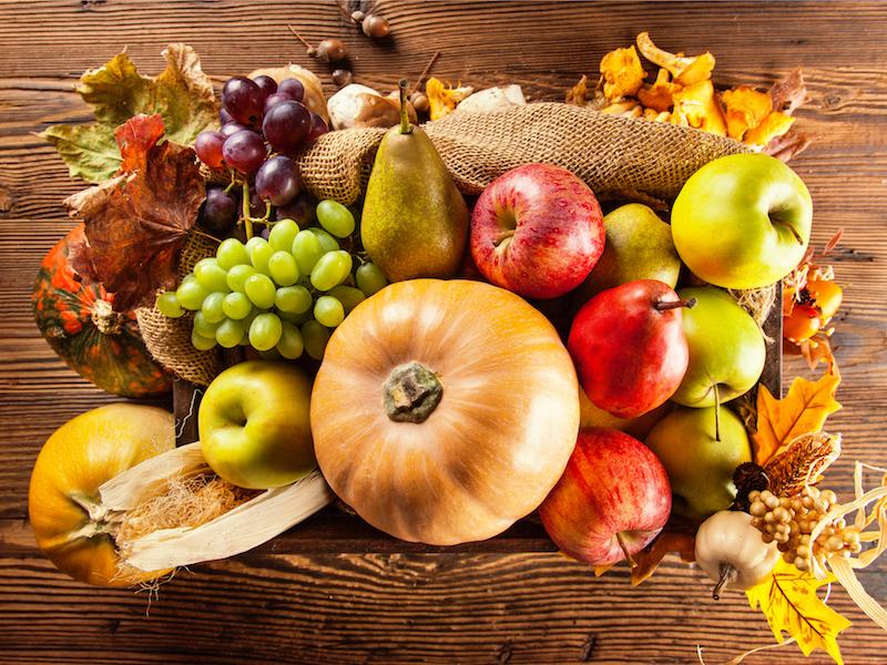 Der Herbst bringt regionales Obst und Gemüse
