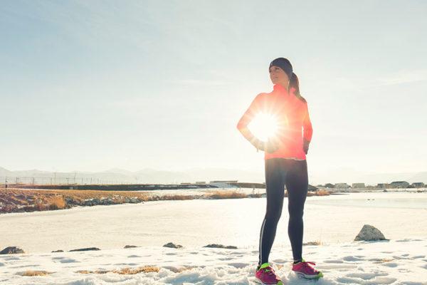Und jetzt erst recht! Sport im Winter bringt besondere Vorteile mit sich.