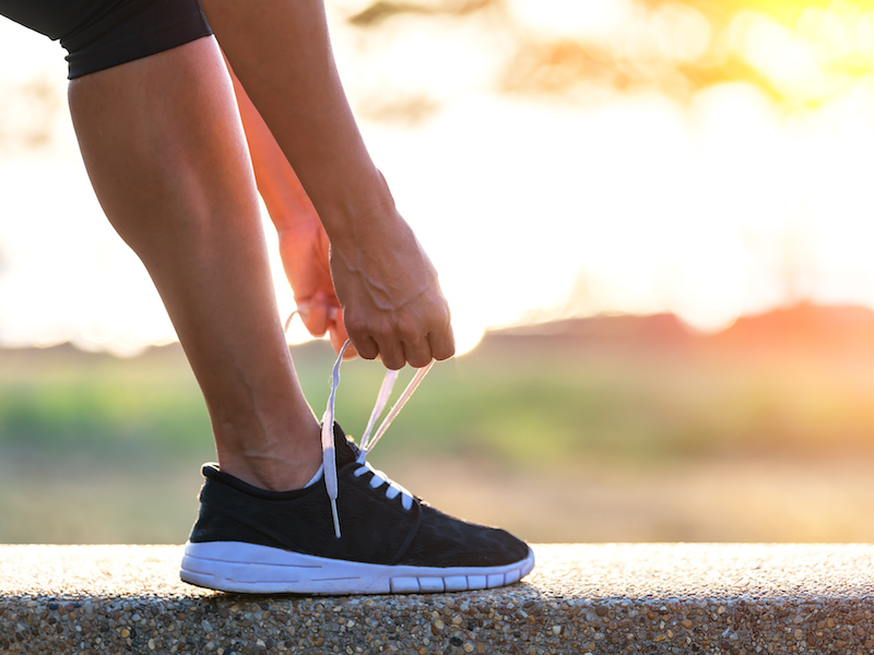 Beim Laufen für Anfänger sollte auf das richtige Material geachtet werden.