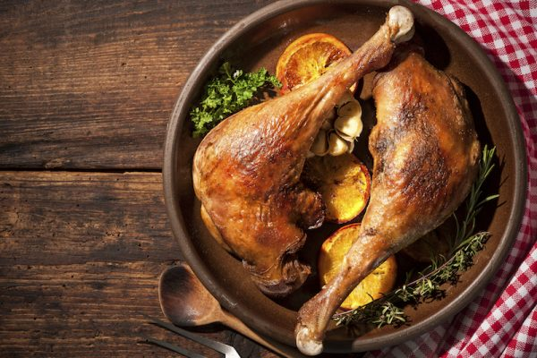 Ente statt Gans zum Martinifest. Eine bekömmliche Alternative.