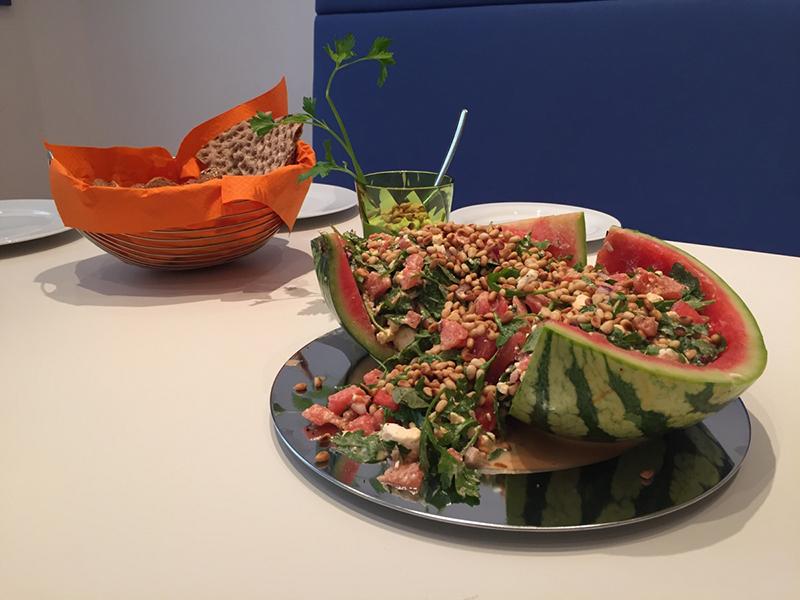 Deine gesunde Pause: Melone mal anders!