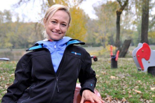 Powerfrau: Alleinerzieherin Mirjam Muckenhuber managt Profi-Sport und Familie.
